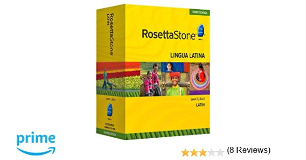Amazon.com: Rosetta Stone Homeschool Latin Level 1-3 Set including ...