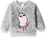 Gymboree Baby Girls Long Sleeve Fuzzy Pullover