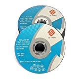 25Pack-4.5''x 0.045''x 7/8-inch Flat Cutting Wheels Cutting Wheel for Grinders,Cutting for Metal & Stainless Steel