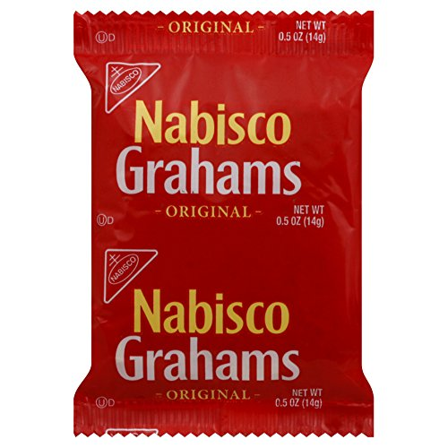 Graham Squares Cracker (Nabisco Graham Crackers (2 -Count), 0.5-Ounce Individually Wrapped Packages (Pack of 200))