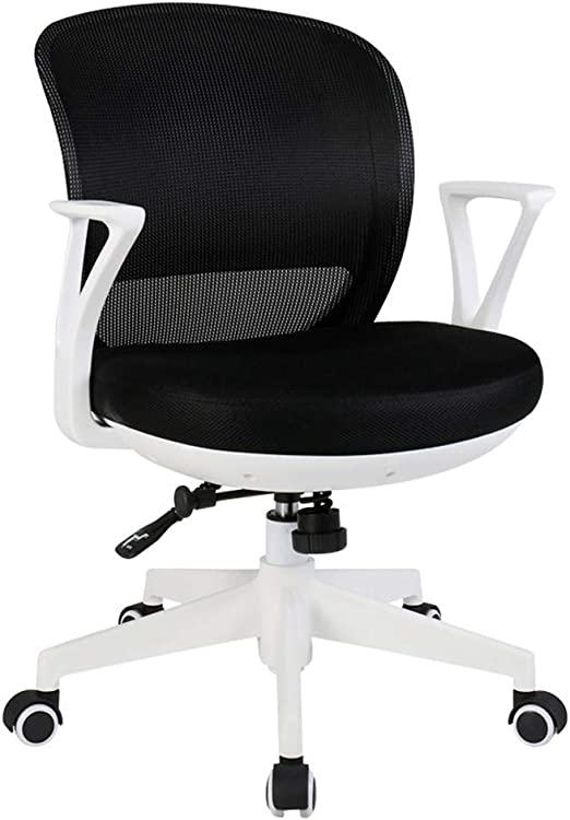 Amazon Com Office Chair Stylish Home Computer Chair Office Swivel Chair Personalized Lift Chair Conference Chair Casual 3d Mesh Armchair Color Black Home Kitchen