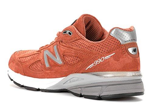 New Balance Mens 990v2 Made In Us Running Sneakers (us 10 D (m), Jupiter)
