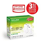 TP-LINK TL-WPA4530KIT AV500 Powerline AC750 Wi-Fi KIT, Range Extender/Wi-Fi Booster/Hotspot with AC Pass Through, Multiple Ethernet Ports, Starter Kit/Twin Pack Bild 2