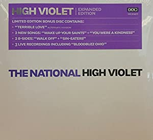 The national high violet limited edtion violet colour vinyl 2 lp.