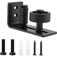 【𝐂𝒚𝐛𝐞𝐫 𝐌𝐨𝐧𝐝𝐚𝒚 𝐃𝐞𝐚𝐥𝐬】Hoogwaardige, robuuste, duurzame deurgeleider van zwart staal voor schuifdeuren met 8…