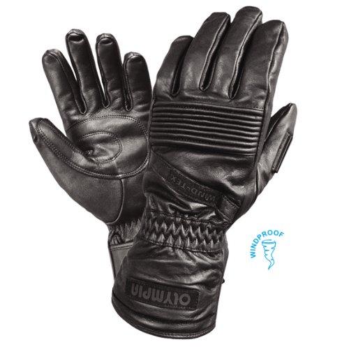 Olympia Womens Glove - Olympia 4355 Ladies All Season Gloves (Black, Medium)