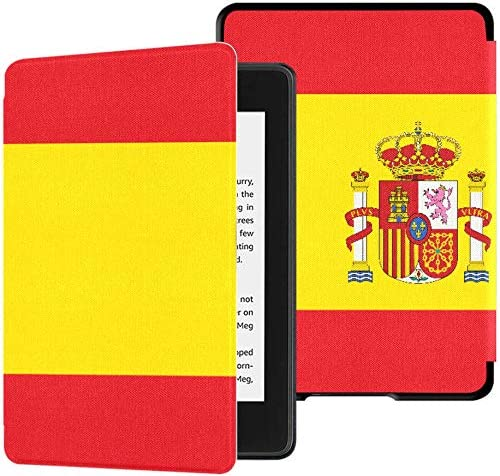 Kindle Cover 2018 Paperwhite Bandera de Alto Detalle España Kindle Paperwhite Estuche Estuche Blando con Auto Wake/Sleep Kindle Paperwhite Estuche para Mujeres 10a generación 2018: Amazon.es: Electrónica