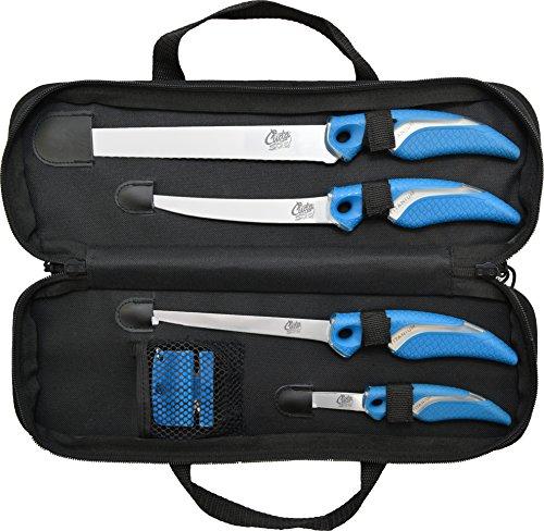 (Cuda 6 Piece Knife/Sharpener Set)
