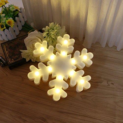 Led 3D Snowflake Christmas Light - 5