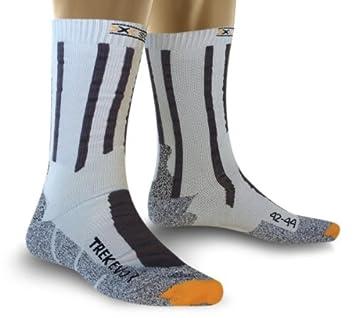 X-Socks calcetines de Trekking Evolution, negro/azul, 45/47,