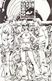 Fanboys vs Zombies #1 Cover F Incentive Ale Garza Sketch Cover