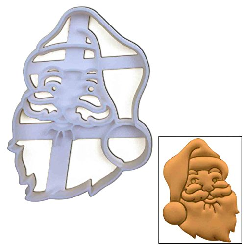 Santa Claus Face cookie cutter, 1 pc, Ideal for Christmas party