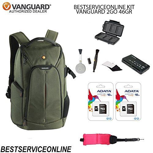Vanguard 2GO KIT Includes: 46GR BAG, Universal Memory Card