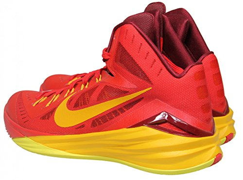Nike Hyperdunk 2014, Zapatillas de Baloncesto para Hombre University Red/Team Red/Sonic Yellow/Gold 676