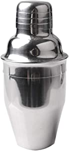 Delidge Cocktail Shaker Stainless Steel Wine Shaker with Strainer and Lid Top, Single Martini (8.4oz/250ml,small)