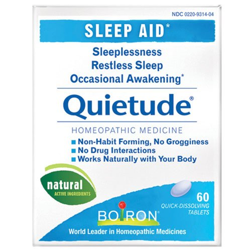Boiron - Quietude® 60 tabs (Pack of 6)