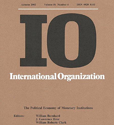(Autumn 2002, Spring 2002, Summer 2002, Winter 2002) 4 Volumes of International Organization: Volume 56, Numbers 1-4