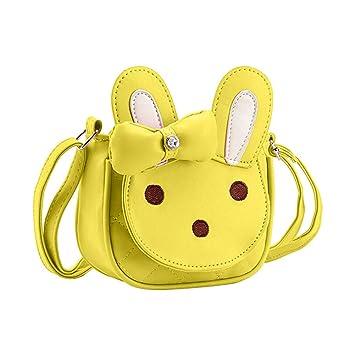 Cartoon Rabbit Cute Bowknot Kids Bag Child School Shoulder Bag Cross Over Bag