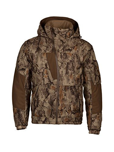 (Natural Gear Waterproof Camo Parka for Men and Women, Full-Zip Hunting Parka Jacket with Hood, Women's and Men's Windproof Rain Jacket (XXX-Large))
