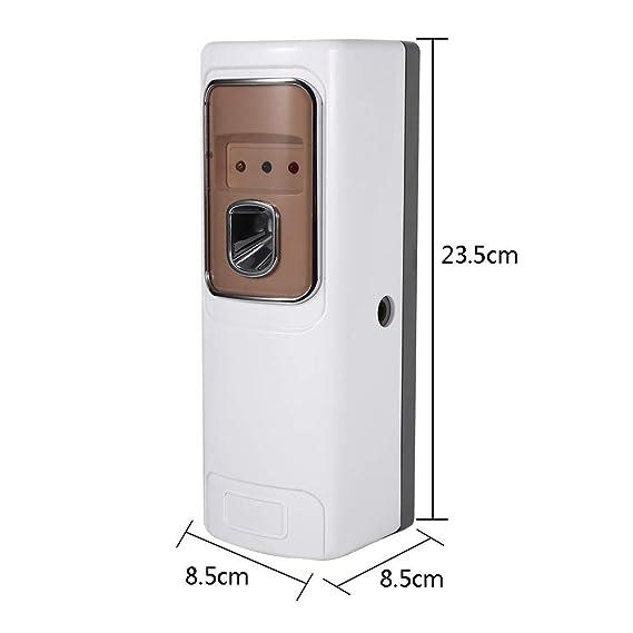 atomizadores de aerosol dispensador, Dispensador Aerosol Automático Ambientador en la pared del hotel del ambientador de aire del perfume del dispensador de ...