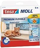 Tesa 05417-00201-00 Calfeutrer joint Portes & Fenêtres Comble tous espaces 6 m x 9 mm x 7 mm