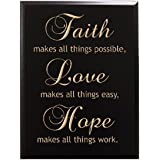 Amazon Com Epic Designs Faith Makes All Things Possible Hope Makes All Things Easy Love Makes
