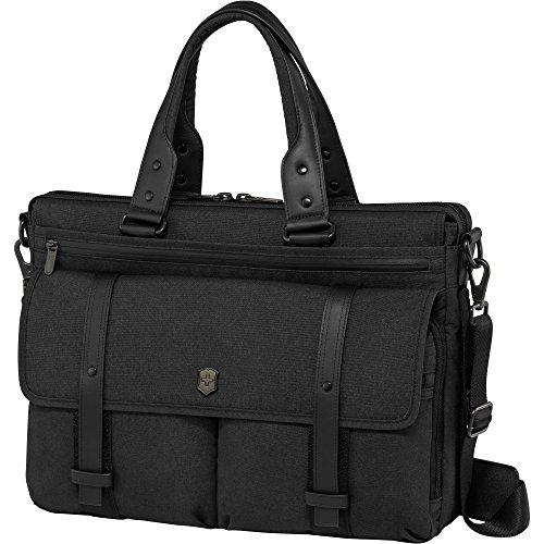 Victorinox Architecture Urban Brunswick Laptop Briefcase, Black, One Size by Victorinox