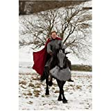 The Hollow Crown Tom Hiddleston as Prince Hal Riding Horse by Trees and Snow 8 x 10 inch photo