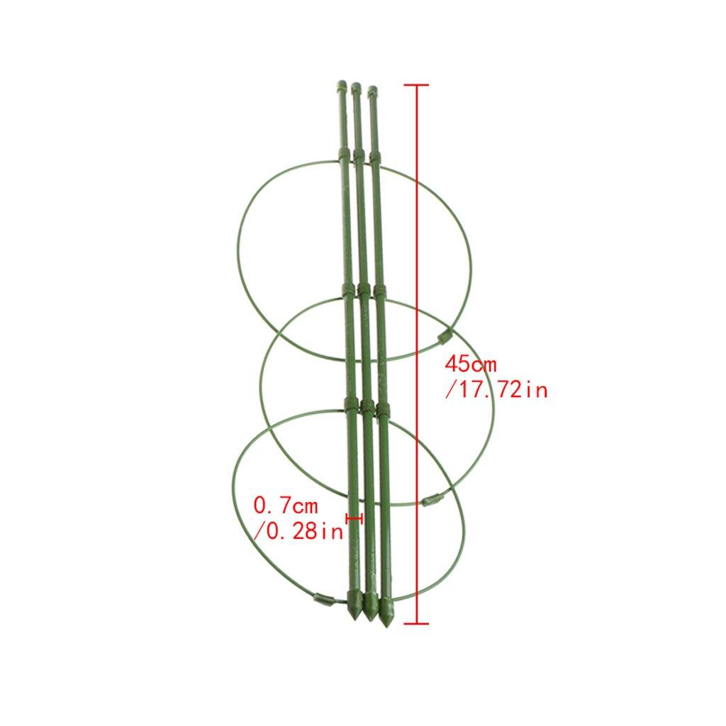 45 huiouer Support de Pot de Fleurs pour Plantes grimpantes 45 cm 60 cm
