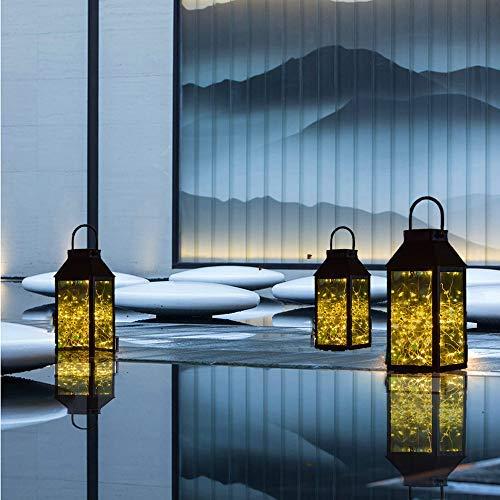 Solar Hanging Lights, Tomshine Outdoor Solar Lantern with 30
