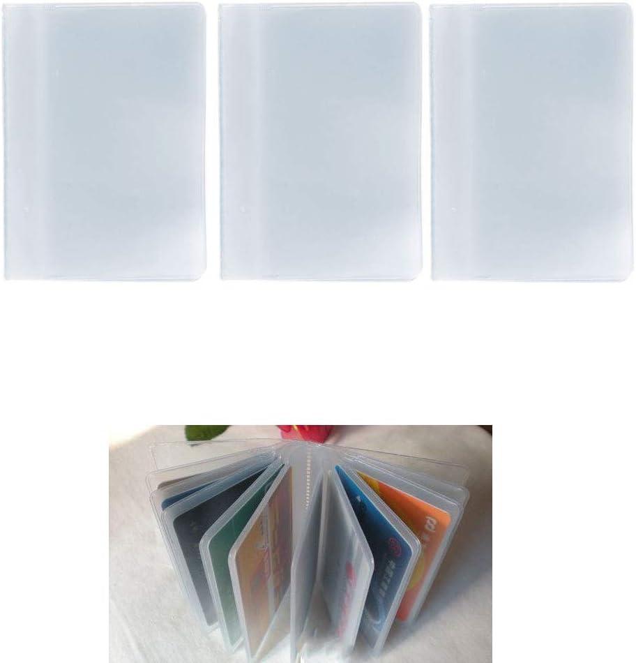 SimpleLife /Étui de Carte de cr/édit en PVC pour Carte de cr/édit Organize Pocket