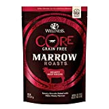 Wellness Core Marrow Roasts Natural Grain Free Dog Treats, Beef, 8-Ounce Bag