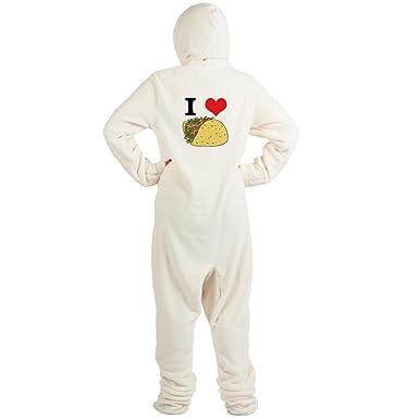 69608c6694 Amazon.com  CafePress - Tacos.Jpg - Novelty Footed Pajamas