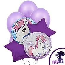 Enchanted Unicorn Party Supplies - Balloon Bouquet