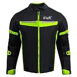 HWK Mesh Motorcycle Jacket Coat Motorbike Jacket Biker CE Armoured Breathable