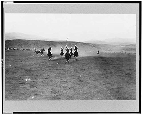 Photo: Polo Game,Polo Players,Portland,Oregon,OR,1915,Sports,Horseback