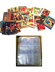 100 ST LOUIS CARDINALS Baseball Cards + 10 Binder Pages