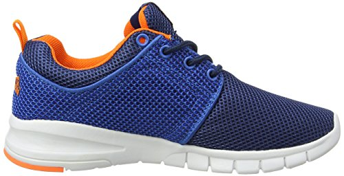 Lonsdale Sivas - Zapatillas de running Niños Blue (Navy/Blue/Orange)