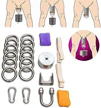 LWX Edelstahl Penis Training Männlich Ergonomisches Design