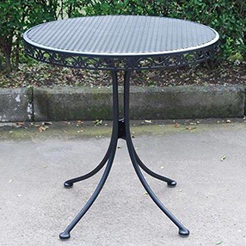 Amazon.com : Outdoor Wrought Iron Bistro Set W / FREE Orange Cushions :  Outdoor And Patio Furniture Sets : Garden U0026 Outdoor