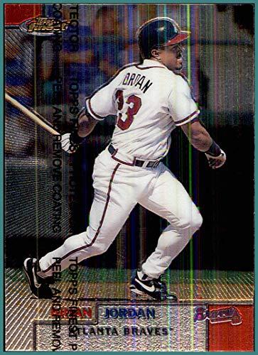 1999 Finest #184 Brian Jordan ATLANTA BRAVES