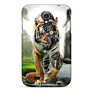 Defender Case With Nice Appearance (amazing Tiger) For Galaxy S4