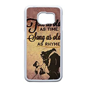 Samsung Galaxy S6 Edge case, Disneys Beauty and the Beast Cell phone case for Samsung Galaxy S6 Edge -PPAW8723192