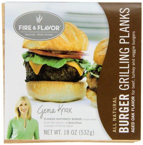 Flavor Burger Grilling Planks Package