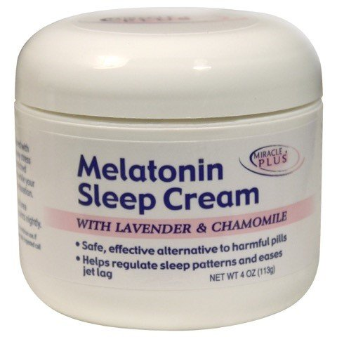 Melatonin Body Cream - Melatonin Sleep Cream Big 4 Oz. Jar