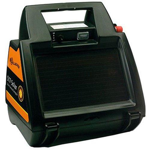 Gallagher G344404 S17 6-volt Solar Fencer, 10 Acre/1-Mile
