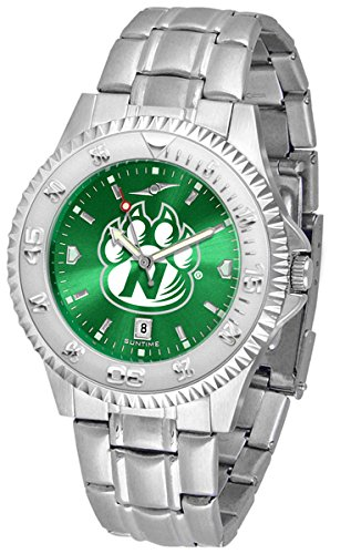 SunTime Northwest Missouri State Bearcats Competitor AnoChrome Men's Watch with Steel Band