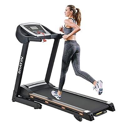SHAYIN Folding Portable Treadmill Running Machine Indoor Commercial Home Health Fitness Training Equipment (US STOCK)
