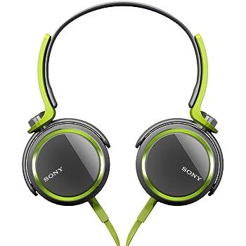 Amazon.com: Sony MDRXB400/GRN Extra Bass Over The Head