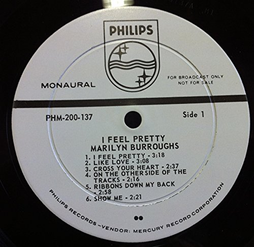 MARILYN BURROUGHS I FEEL PRETTY vinyl record